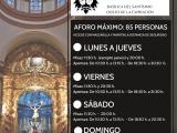 HORARIOS DE MISAS Y VISITA BASÍLICA DEL MES DE JULIO 2020