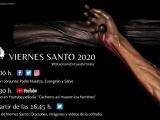 PROGRAMACIÓN DEL VIERNES SANTO 2020 EN REDES SOCIALES DE LA HERMANDAD