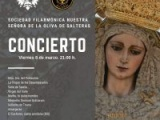 CONCIERTO DE LA SOCIEDAD FILARMÓNICA NTRA. SRA. DE LA OLIVA DE SALTERAS