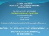 ACTIVIDAD ORGANIZADA POR EL CENTRO ASTURIANO DE SEVILLA A BENEFICIO DE LA BOLSA DE CARIDAD DE LA HERMANDAD
