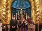 EL ARZOBISPO DE SEVILLA, MONSEÑOR ASENJO PELEGRINA, HERMANO MAYOR HONORARIO DE LA HERMANDAD
