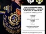 CONCIERTO DE LA BANDA DE CORNETAS Y TAMBORES GRAN PODER DE CORIA DEL RIO